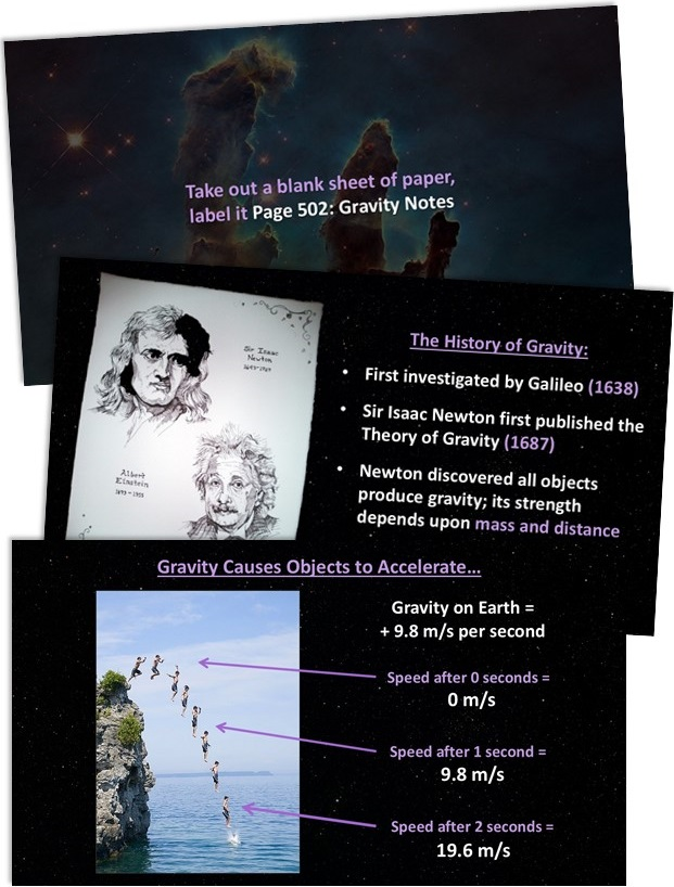 GravityNotes